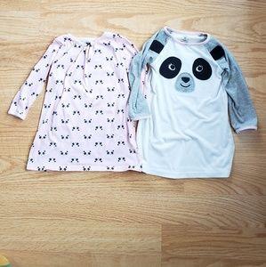 Carter's Panda Nightgown Bundle